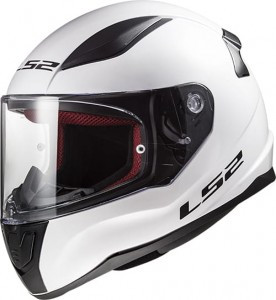 LS2 helm Solid wit